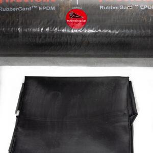 EPDM Maatwerk Vanaf 8.5eur/m² Breedte 3.05m Tot 15.24m 1.15mm Dikte